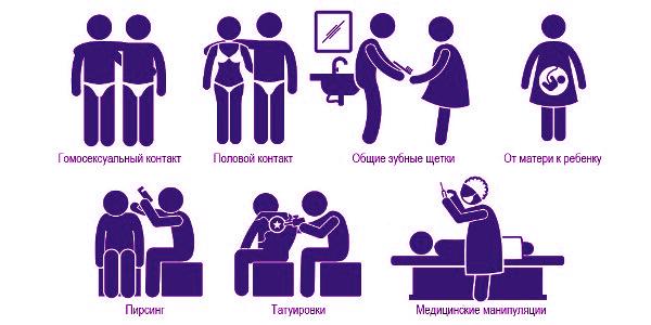 Как передаются вирусные гепатиты