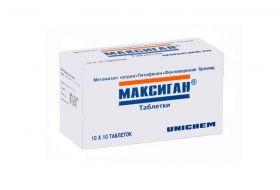 Максиган: от чего помогает таблетки, состав, аналоги, отзывы