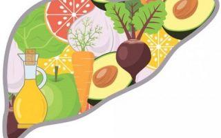 Диета при жировом гепатозе печени: что можно кушать, таблица