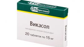 Викасол: таблетки и ампулы, отзывы, аналоги