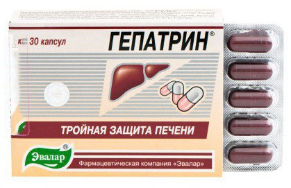 Форма выпуска Гепатрин