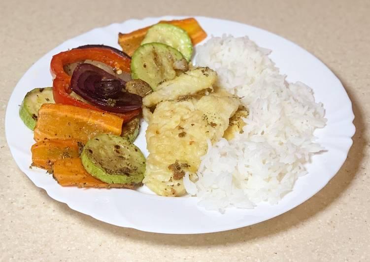 Рецепт рыбы с овощами для стола № 5