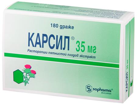 Таблетки для восстановления печени