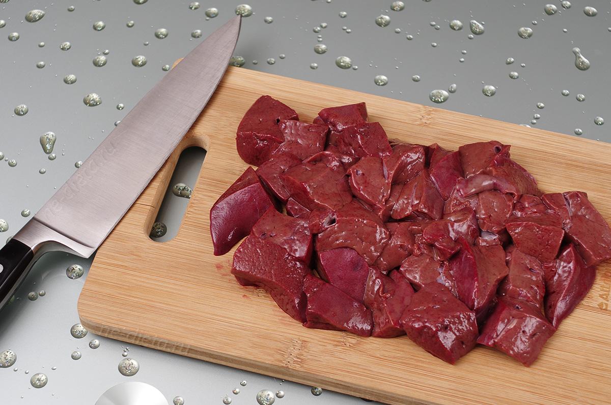 Мясные продукты для восстановления печени