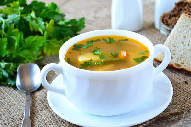 Рецепт овощного супа при циррозе печени